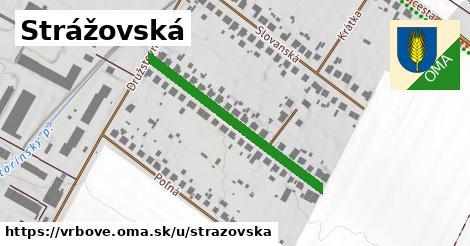ilustrácia k Strážovská, Vrbové - 345m