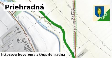 ilustrácia k Priehradná, Vrbové - 483m
