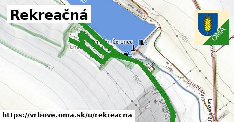 ilustrácia k Rekreačná, Vrbové - 1,20km