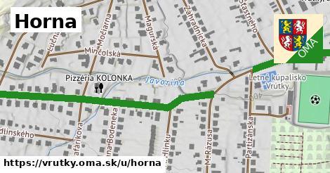 ilustrácia k Horna, Vrútky - 224m