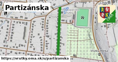 ilustračný obrázok k Partizánska, Vrútky