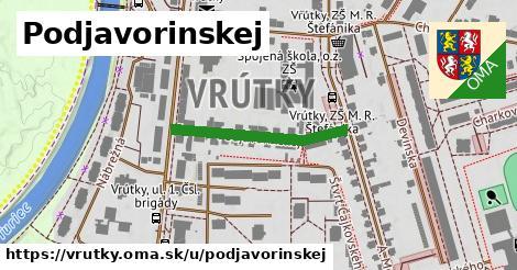 ilustrácia k Podjavorinskej, Vrútky - 255m