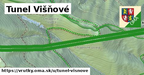 ilustrácia k Tunel Višňové, Vrútky - 6,4km