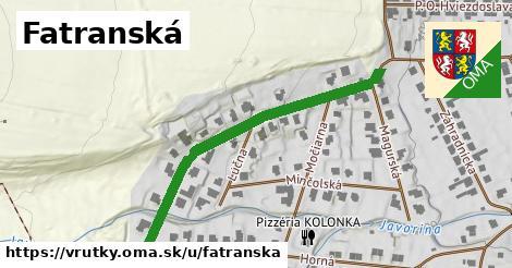 ilustrácia k Fatranská, Vrútky - 444m