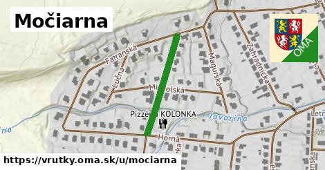 ilustrácia k Močiarna, Vrútky - 240m