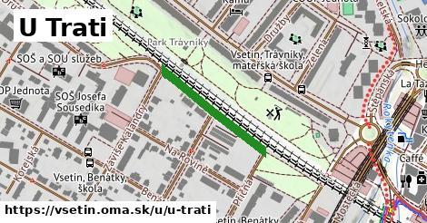 ilustrácia k U Trati, Vsetín - 226m