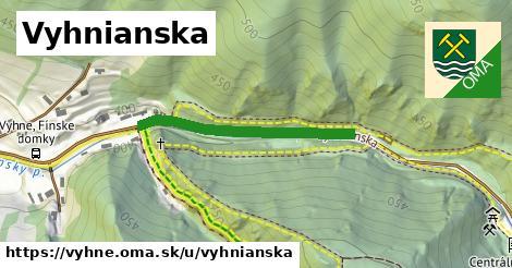 ilustrácia k Vyhnianska, Vyhne - 391m
