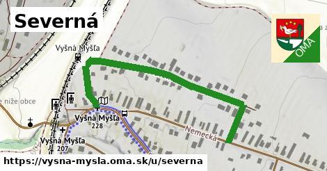 ilustrácia k Severná, Vyšná Myšľa - 569m