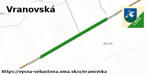 ilustrácia k Vranovská, Vyšná Šebastová - 385m