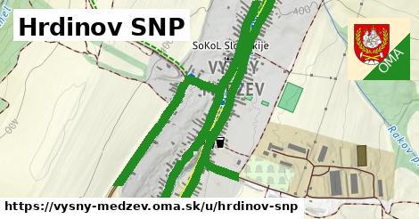 ilustrácia k Hrdinov SNP, Vyšný Medzev - 3,8km