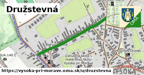 ilustrácia k Družstevná, Vysoká pri Morave - 409m