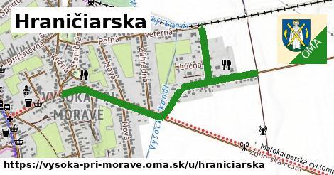 ilustrácia k Hraničiarska, Vysoká pri Morave - 1,22km