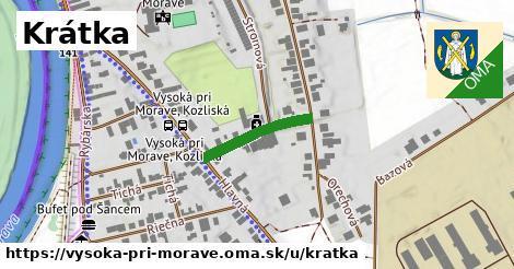 ilustrácia k Krátka, Vysoká pri Morave - 169m