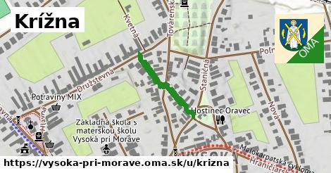 ilustrácia k Krížna, Vysoká pri Morave - 193m