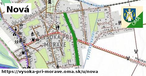 ilustrácia k Nová, Vysoká pri Morave - 613m