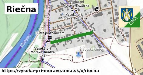ilustrácia k Riečna, Vysoká pri Morave - 231m