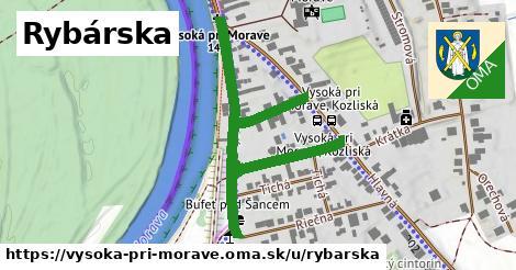 ilustrácia k Rybárska, Vysoká pri Morave - 598m