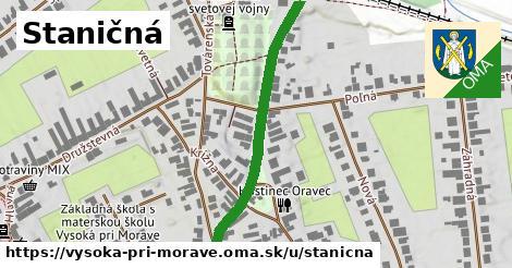 ilustrácia k Staničná, Vysoká pri Morave - 435m