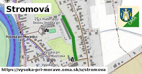 ilustrácia k Stromová, Vysoká pri Morave - 252m