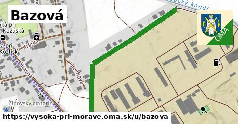 ilustrácia k Bazová, Vysoká pri Morave - 574m