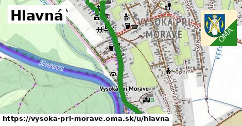 ilustrácia k Hlavná, Vysoká pri Morave - 2,6km