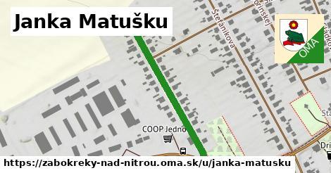 ilustrácia k Janka Matušku, Žabokreky nad Nitrou - 378m