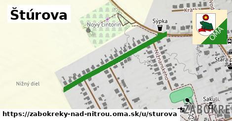 ilustrácia k Štúrova, Žabokreky nad Nitrou - 388m