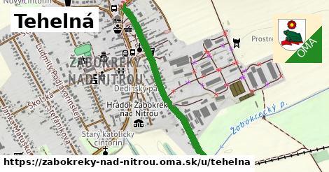 ilustrácia k Tehelná, Žabokreky nad Nitrou - 562m