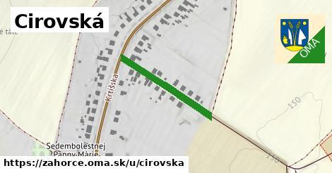 ilustrácia k Cirovská, Záhorce - 232m