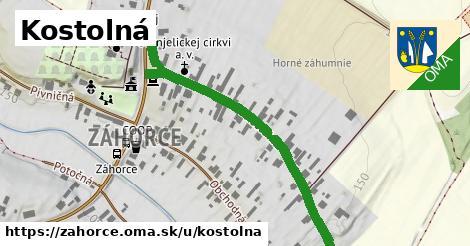 ilustrácia k Kostolná, Záhorce - 503m