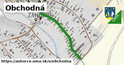 ilustrácia k Obchodná, Záhorce - 390m