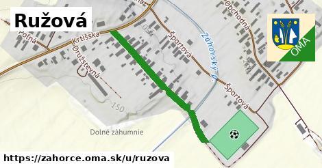 ilustrácia k Ružová, Záhorce - 336m