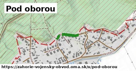 ilustrácia k Pod oborou, vojenský obvod Záhorie - 138m