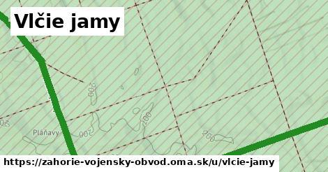 ilustrácia k Vlčie jamy, vojenský obvod Záhorie - 4,3km