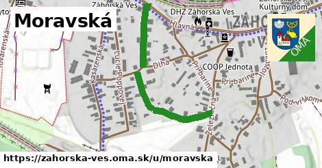 ilustračný obrázok k Moravská, Záhorská Ves