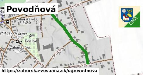 ilustračný obrázok k Povodňová, Záhorská Ves