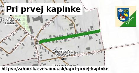 ilustračný obrázok k Pri prvej kaplnke, Záhorská Ves