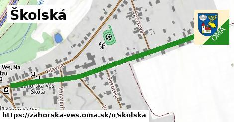 ilustrácia k Školská, Záhorská Ves - 0,71km
