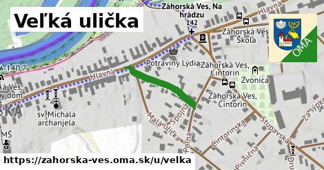 ilustrácia k Veľká ulička, Záhorská Ves - 182m