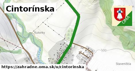 ilustrácia k Cintorinská, Záhradné - 0,77km
