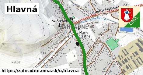 ilustrácia k Hlavná, Záhradné - 1,50km