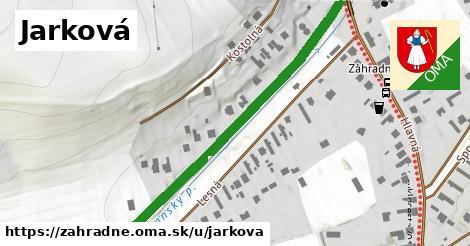 ilustračný obrázok k Jarková, Záhradné