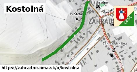 ilustrácia k Kostolná, Záhradné - 420m