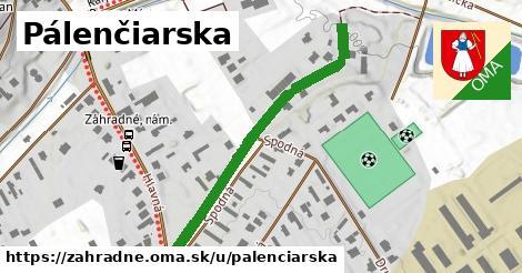 ilustrácia k Palenčiarska, Záhradné - 427m