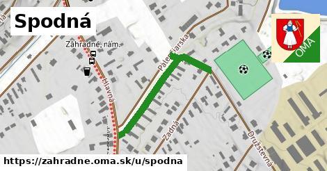 ilustrácia k Spodná, Záhradné - 323m