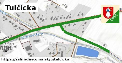 ilustrácia k Tulčícka, Záhradné - 411m