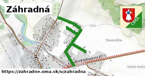 ilustrácia k Záhradná, Záhradné - 0,71km