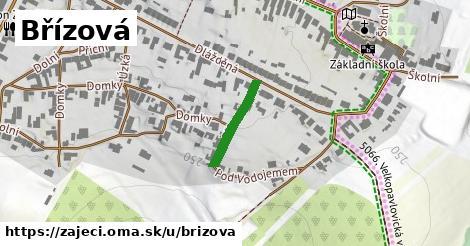 ilustrácia k Břízová, Zaječí - 151m
