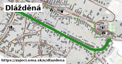 ilustrácia k Dlážděná, Zaječí - 667m