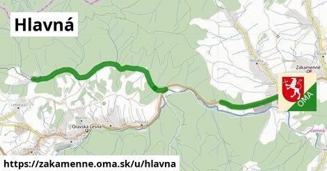 ilustrácia k Hlavná, Zákamenné - 9,3km